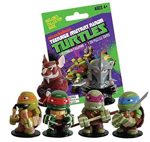 TMNT Mini Figures Blind Bags x 24